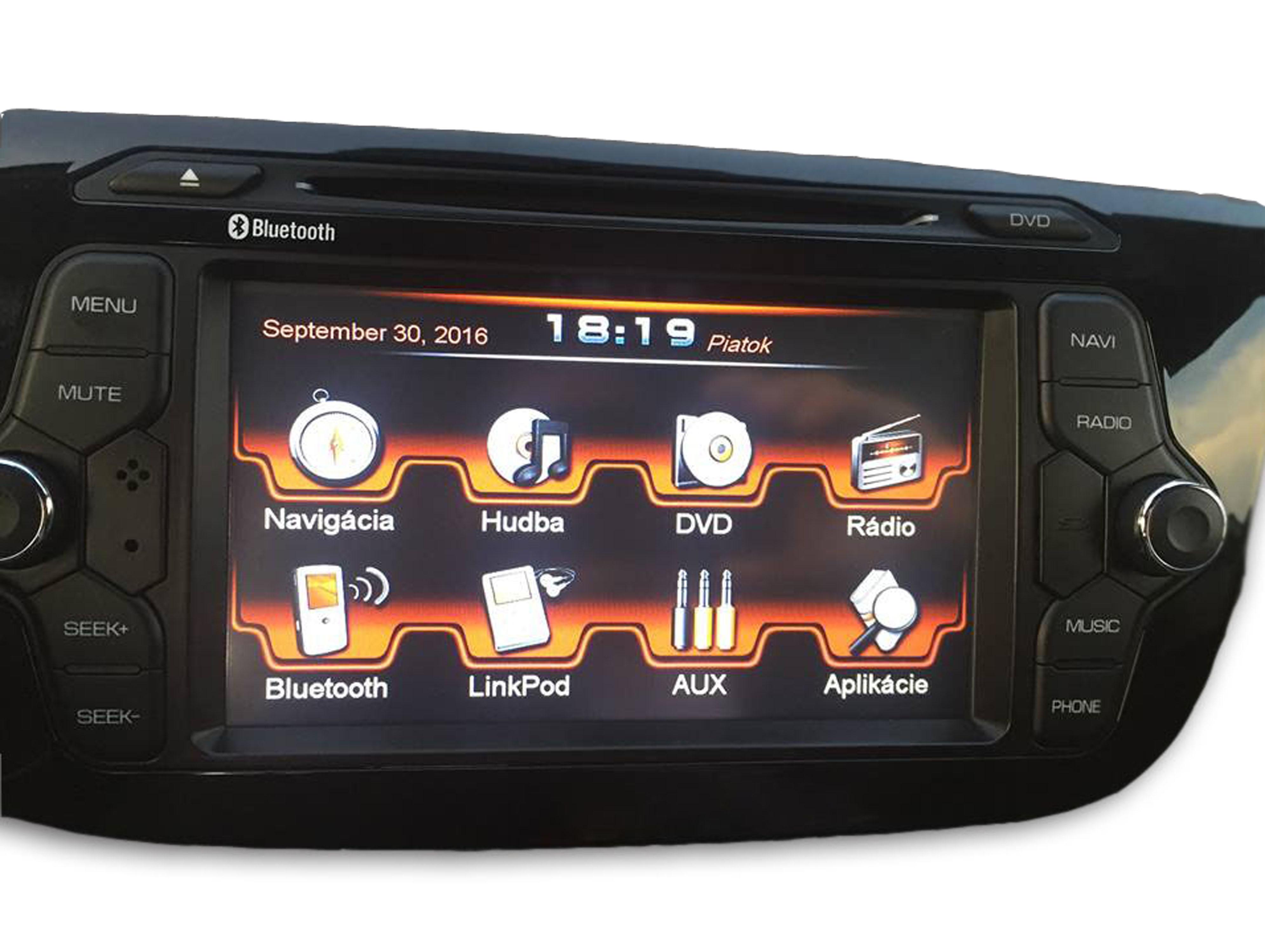 Origin�lna GPS navig�cia ESX-VN710 pre KIA Ceed (06/2012->)