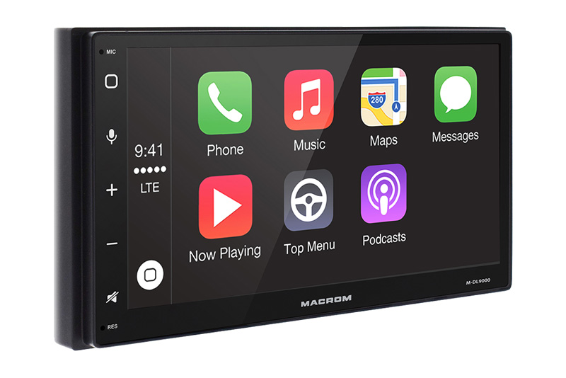 MACROM M-DL9000 navig�cia 2DIN s Apple CarPlay a Android Auto funkciou