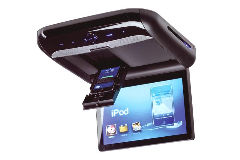 Macrom M-DVD1023RV stropný monitor s DVD a  iPhone / iPod prehrávaèom