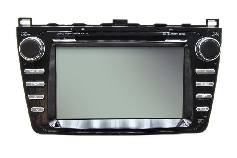 Autor�dio Caska s GPS pre MAZDA 6 II.gen.