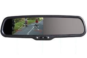 Monitor v sp�tnom zrkadle Audi, VW, �koda