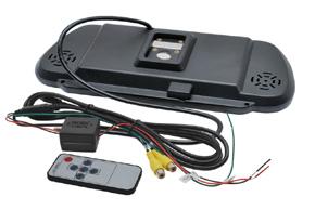 Monitor BK-073MA  v univerzálnom spätnom zrkadle