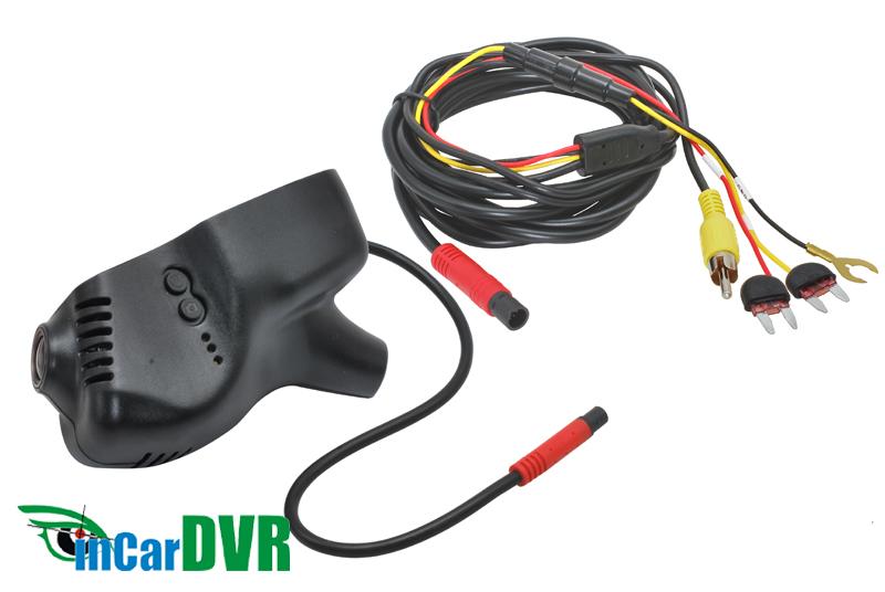 InCar DVR z�znamov� kamera VW, �KODA, SEAT