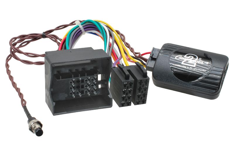 Adapt�r ovl�dania autor�dia na volante - BMW Mini (01-06) s aktivnym audio syst�mom