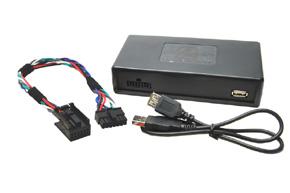 USB+AUX vstup pre OEM autor�di�-PEUGEOT