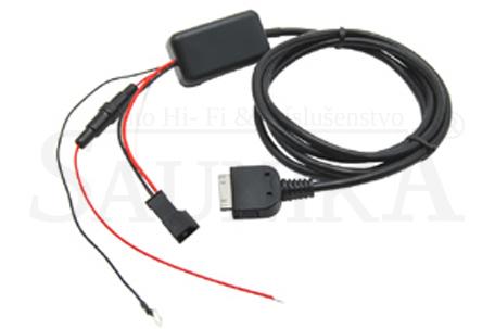 Adapt�ry iPod-OEM autor�di�-BMW - farebn� display