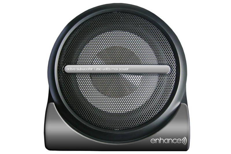 EXHANCE akt�vny subwoofer 200mm / 250W