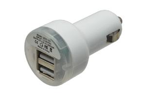CL nab�ja�ka 2x USB 2,1A+1A