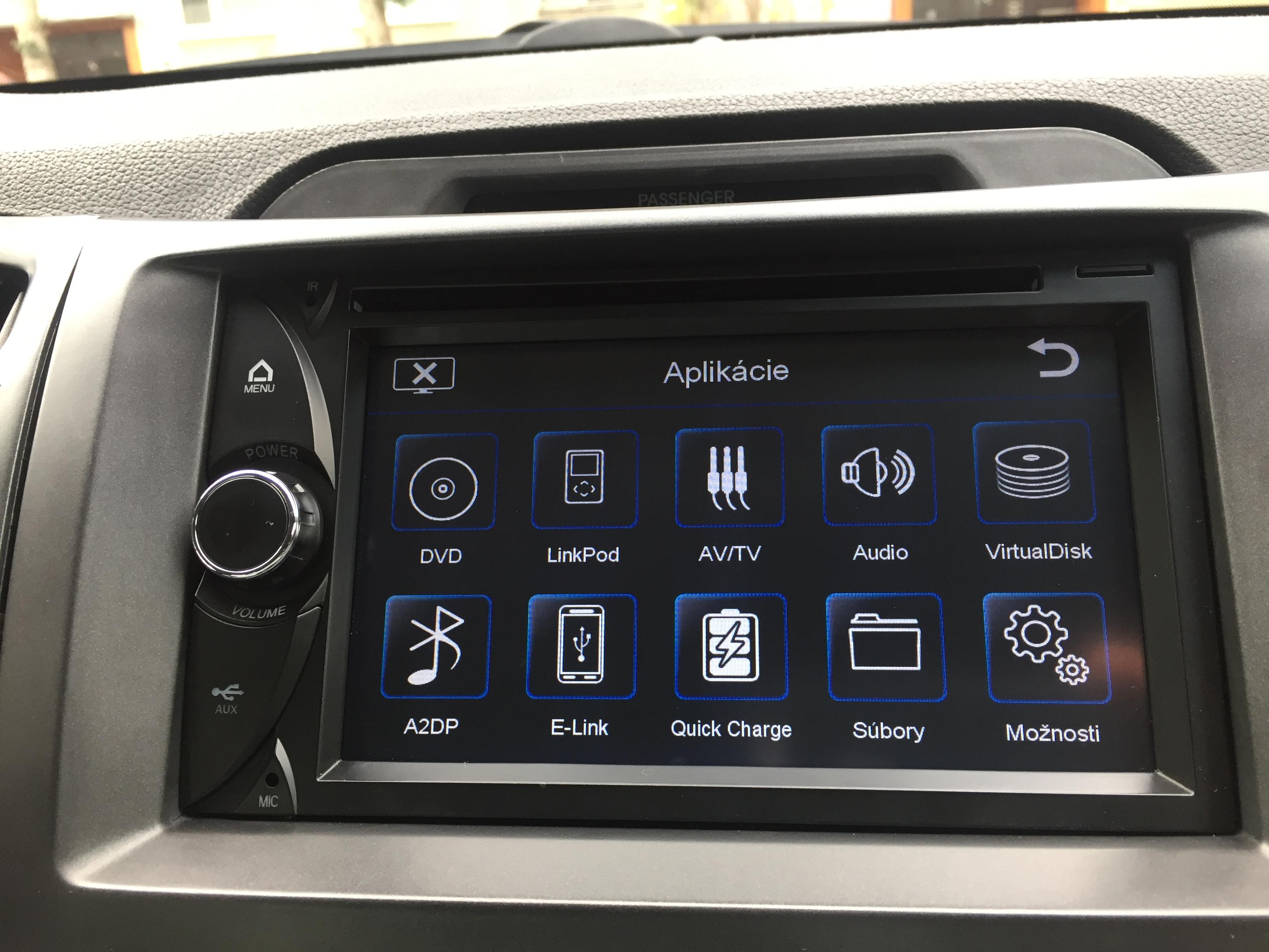 Origin�lna GPS navig�cia ESX-VN720 pre VW - �koda - Seat (2003->2013)