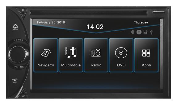 ESX multim�dia VN-630DS univerz�lna 2DIN navig�cia