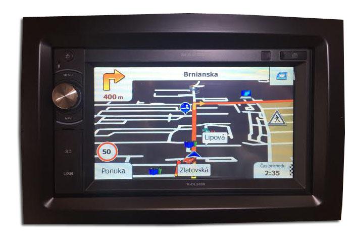Autor�dio GPS Macrom M-DVD5566 pre KIA Sportage IV. (2016->)