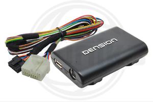 Adapt�r Dension Lite 3 iPod-USB-AUX vstup pre SUZUKI-Fiat Sedici