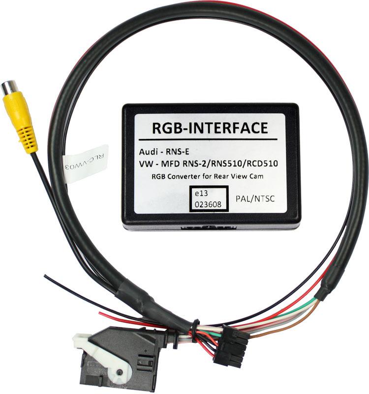 Video adapt�r pre parkovaciu kameru VW RNS510 / �koda Columbus