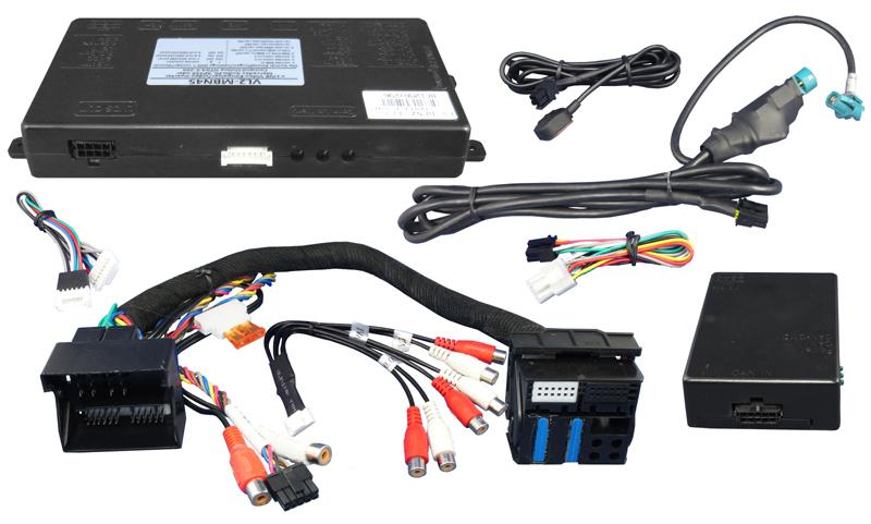 Video adapt�r pre pripojenie videa a parkovacej kamery v Mercedes s NTG4.5 Comand APS, Audio 50 APS, Audio20.