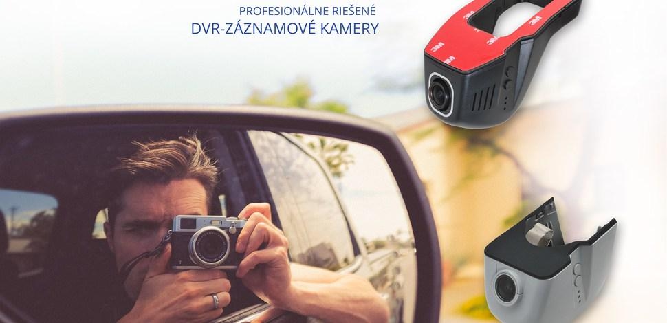 Záznamové kamery do auta