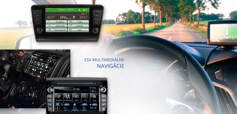 ESX Vision originálne navigácie