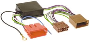 Adaptér pre aktívny audio systém-AUDI /VW-mini ISO.