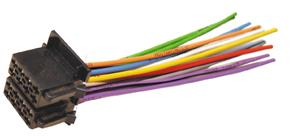 ISO konektor auto-vo¾né vodièe.
