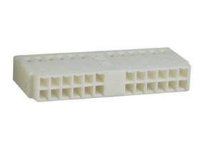 FAKRA konektor plastov� kryt konektora biely /autor�dio/