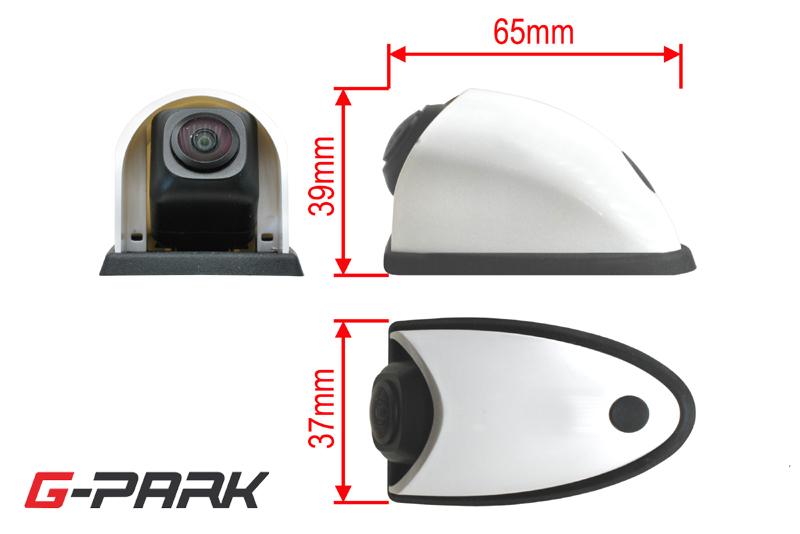 CMOS univerzálna širokouhlá zadná parkovacia kamera s bezdrôtovým dia¾kovým ovládaèom