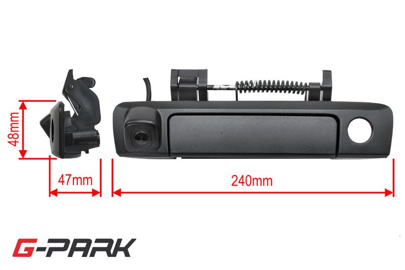 CMOS zadná parkovacia kamera FORD Ranger (2011->) v madle