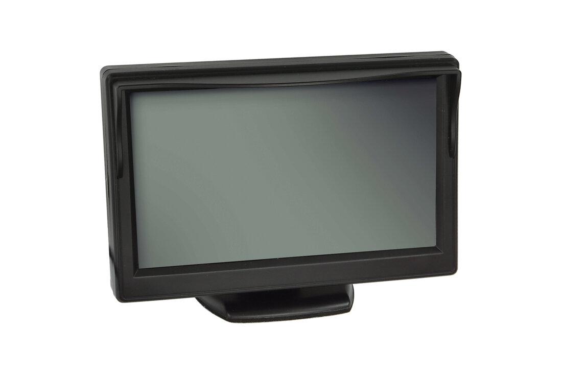 """Monitor 5"""" univerzálny - 2 x video vstup, 3 x uchytenie"""
