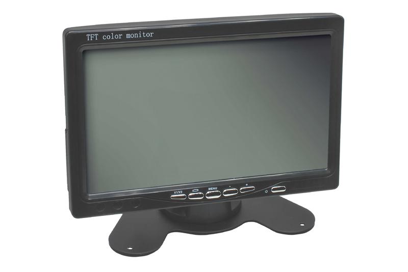 """Monitor 7"""" univerzálny - 2 x video vstup"""