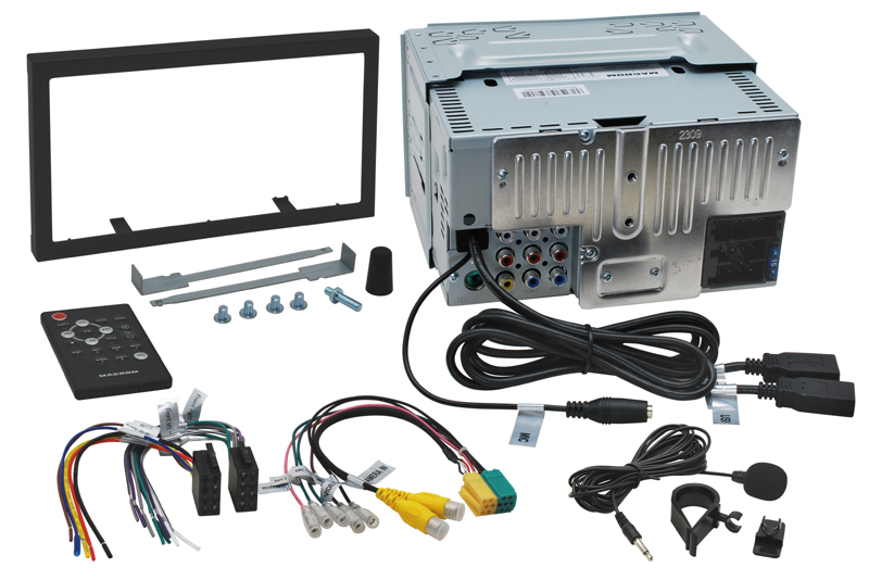 MACROM M-DL4000 AV jednotka 2DIN