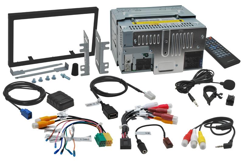 Autor�dio MACROM M-DVD6000 s navig�ciou 2DIN