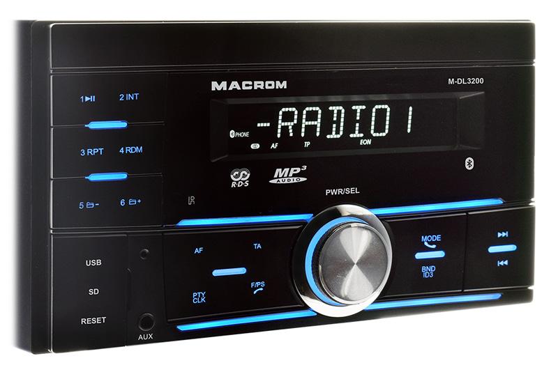 MACROM M-DL3200 autor�dio 2DIN