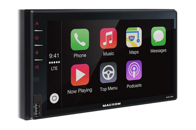 Autorádio MACROM M-DL7000D - 2DIN multimediálna navigácia