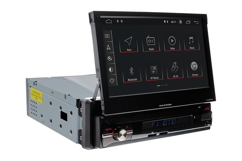 Macrom M-AN6560 - 7'' motorovo vysúvate¾ný monitor