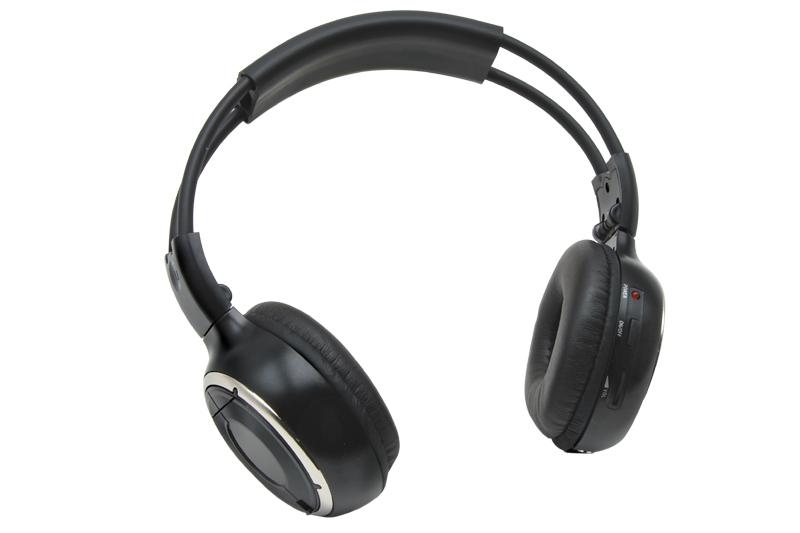 Bezdrátové sluchátka Macrom M-HP11 IR  - jednokanálové