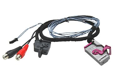 AV prepojovací kábel AUDI s navi RNS-E.