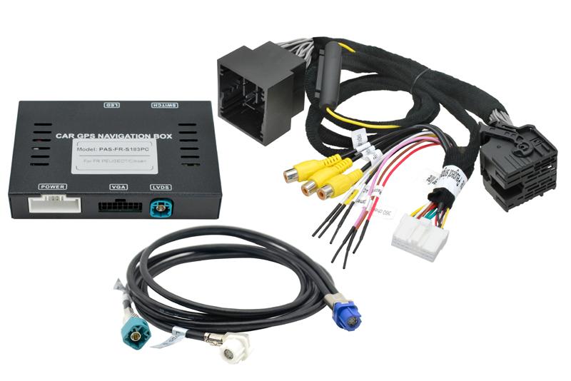 Vstup pre parkovaciu kameru PEUGEOT/ CITROEN / TOYOTA / OPEL - NAC systém