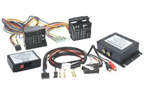 AV adapt�r + odblok pre VW RNS510 / �koda Columbus
