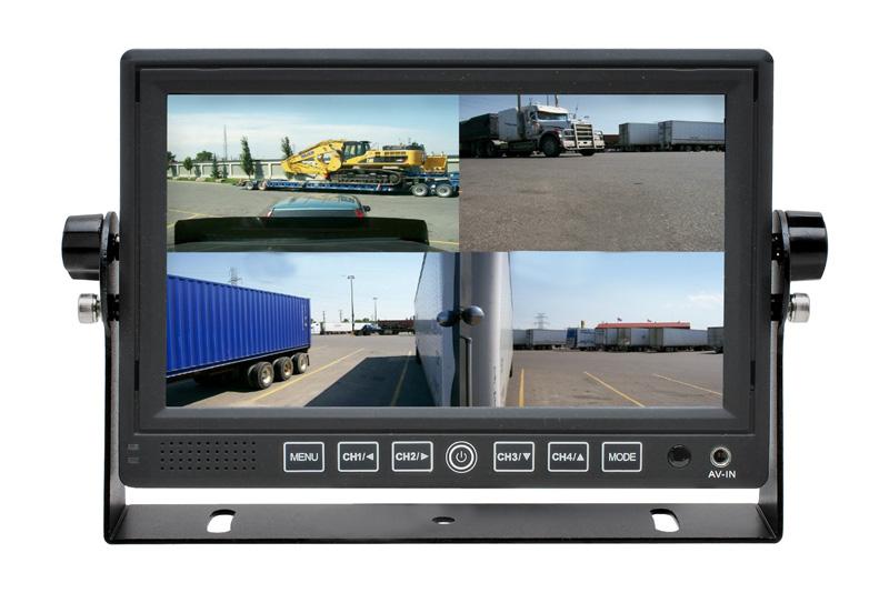 Calearo univerz�lny monitor 7'' s kvadr�torom pre 4 kamery