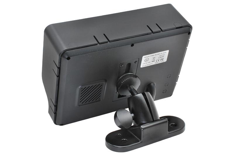 """Monitor 7"""" univerzálny so vstupom pre 4 kamery"""