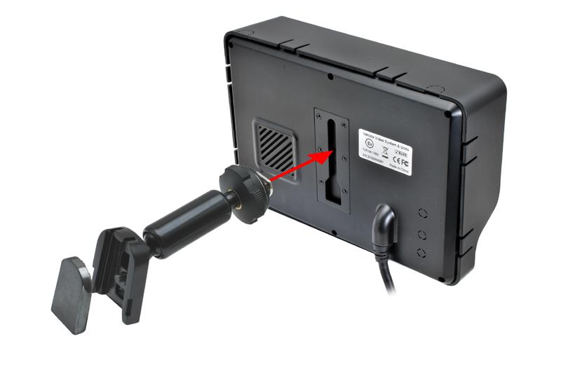 Univerzálna konzola monitoru na èelné sklo