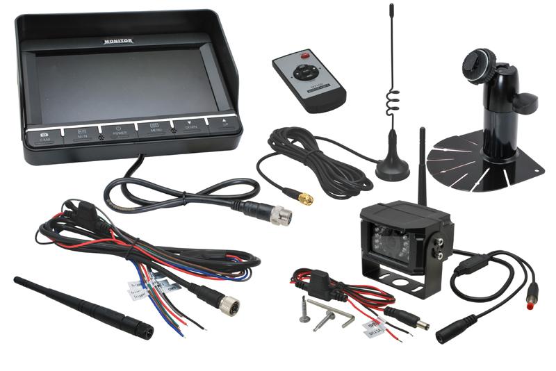 """RVW-704 WIFI zostava 7 """"monitor + CCD parkovacia kamera"""