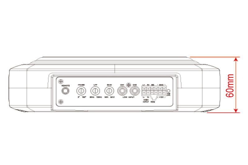 MACROM M-SW1000 aktívny subwoofer 200W RMS