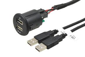 USB-iPod-Aux prepojovacie k�ble
