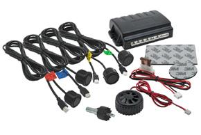 BENE403 Parkovacie senzory 4 čidlá piezo bzučiak