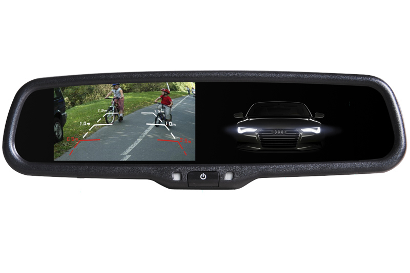 Monitor v zrkadle stmavovací - Peugeot Expert/ Citroen Jumpy/ Toyota