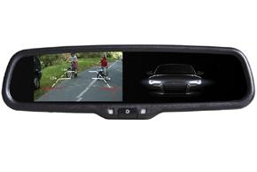 Monitor v zrkadle stmavovací - Audi, VW, Škoda