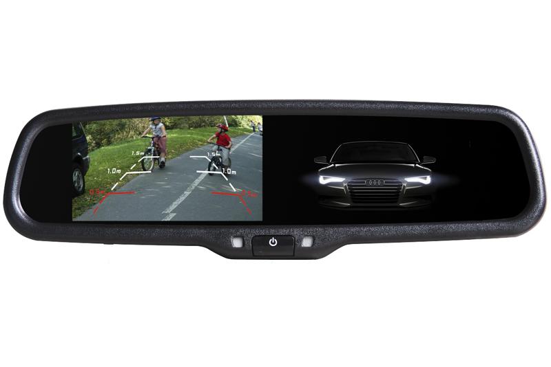 Monitor v zrkadle stmavovací - BMW, Peugeot, Fiat, Citroen, Volvo
