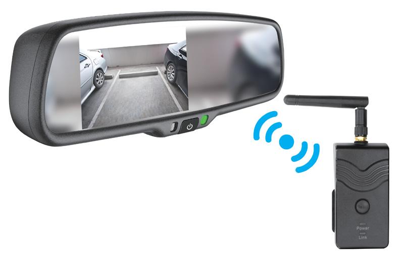 Monitor v zrkadle s Wifi prenosom signálu
