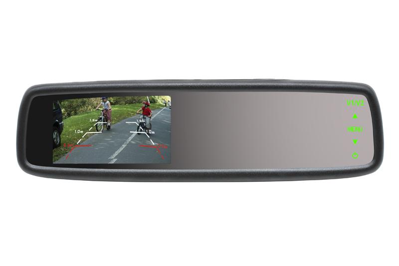 BK-043LU monitor v univerz�lnom sp�tnom zrkadle