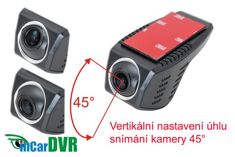 InCar DVR z�znamov� kamera univerz�lna