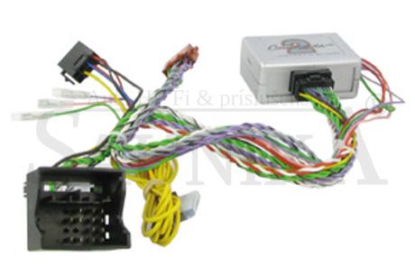 Adaptér ovládania autorádia na volante-BMW 1 /3 / 5 / 6 / 7 / Mini s pakovacími senzormi